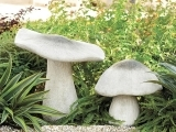 Garden Mushrooms Decorating and Design