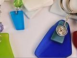 Drilled Sea Glass Pendant