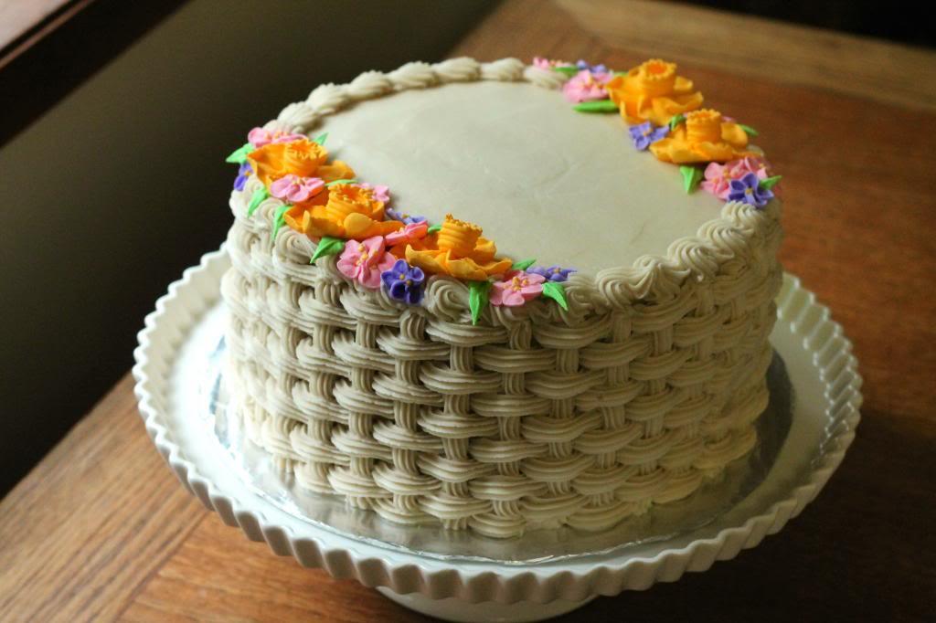 Cake Decorating: Basket Weave - Spring 2019