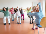 Chair Yoga at Flagler Health+ Village at Nocatee