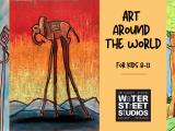 Art Around the World (age 8-10)