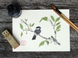 Painting Birds in Chinese Brush - Interest List Only