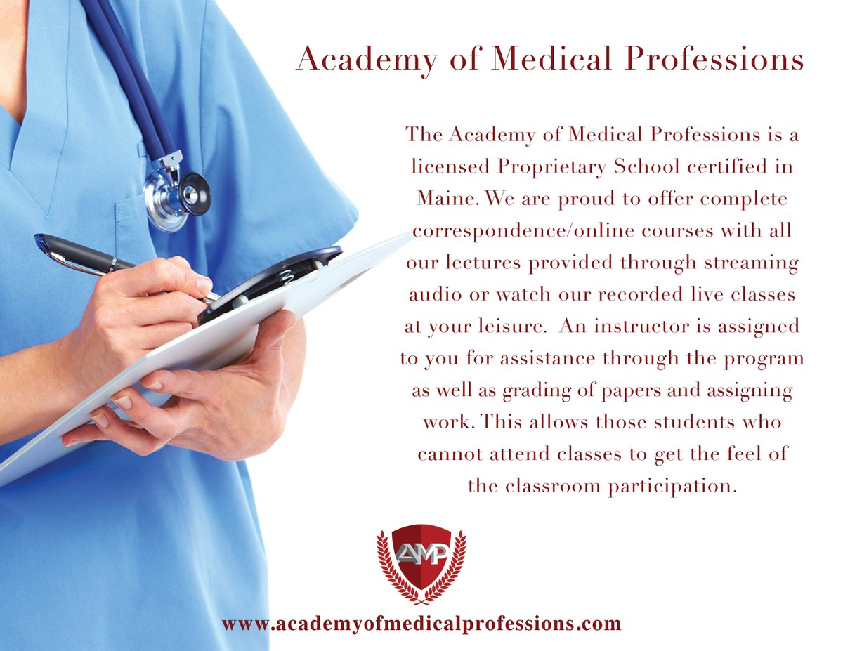 Academy of Medical Professions W19