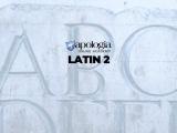 LATIN 2/LIVE (Option 1)