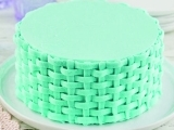 Cake Decorating: Basket Weave Cakes (Holiday Themed)