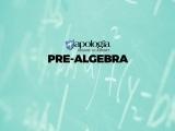 02. PRE-ALGEBRA/REC (Option 2) $638*
