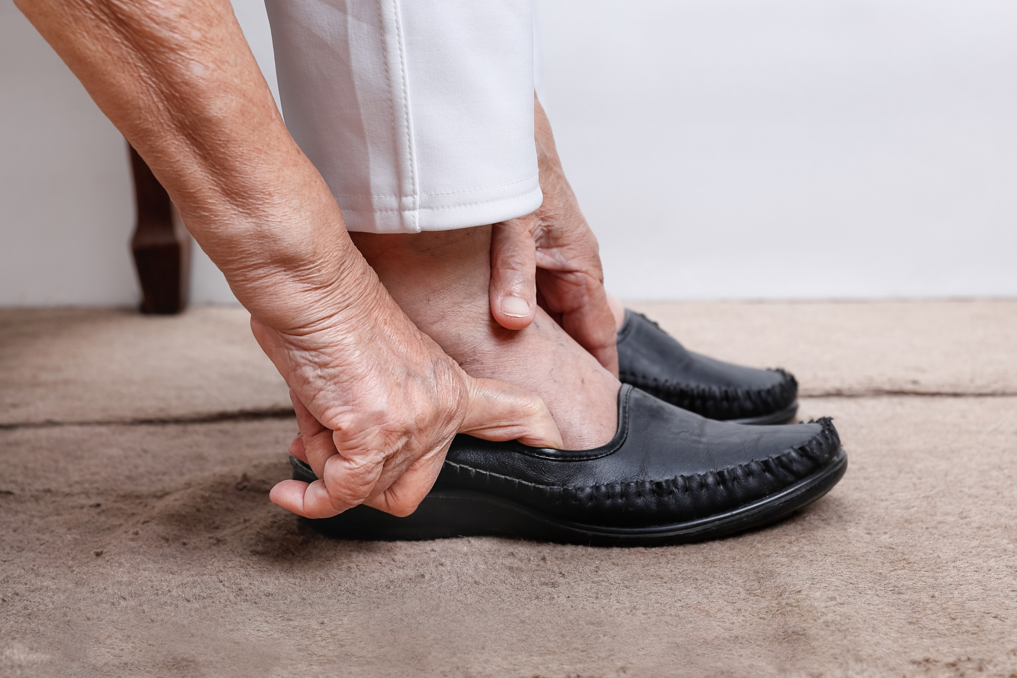 The Aging Foot — Problems, Prevention and Proactive Topics
