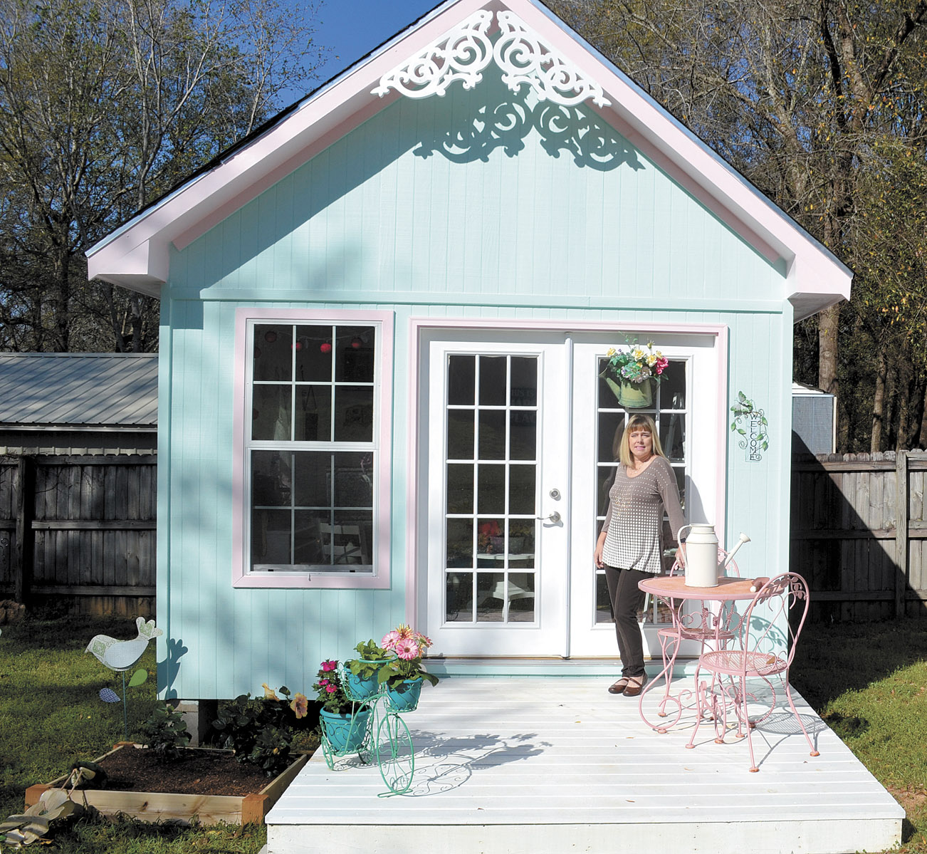 Every Woman Needs One: A She Shed - New!