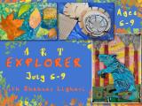Art Explorers July 5 - July 9