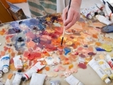 Mindful Landscape Oil Painting for Beginners