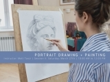 Session II Portrait Drawing & Painting