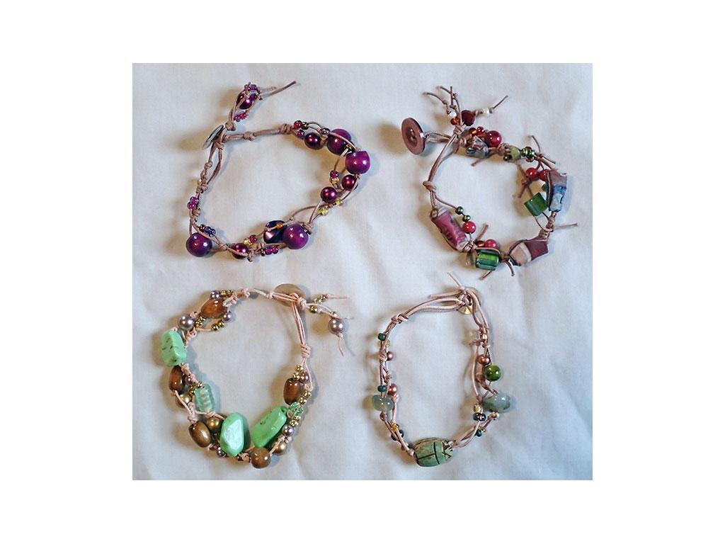 Create a Free Form Bracelet