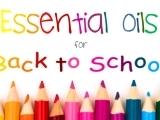 Back to School Essential Oils