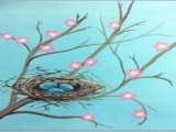 "Virtual Paint Night- ""Promise of Spring"""
