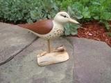 Wood Carving - Shore Bird