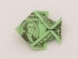 Virtual Money Origami: Fold a Fish