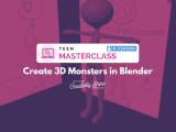 [In-Person] Create 3D Monsters in Blender (Teen Masterclass)