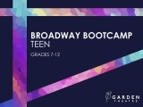 Broadway Bootcamp Teen (grades 7-12)