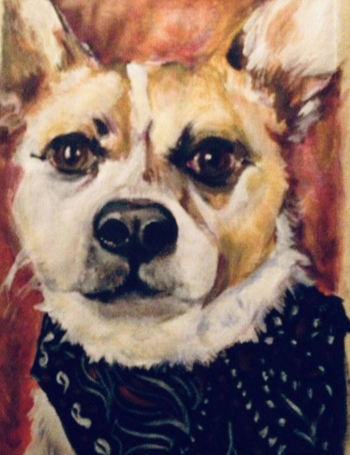 Paint a Pet Portrait MAY
