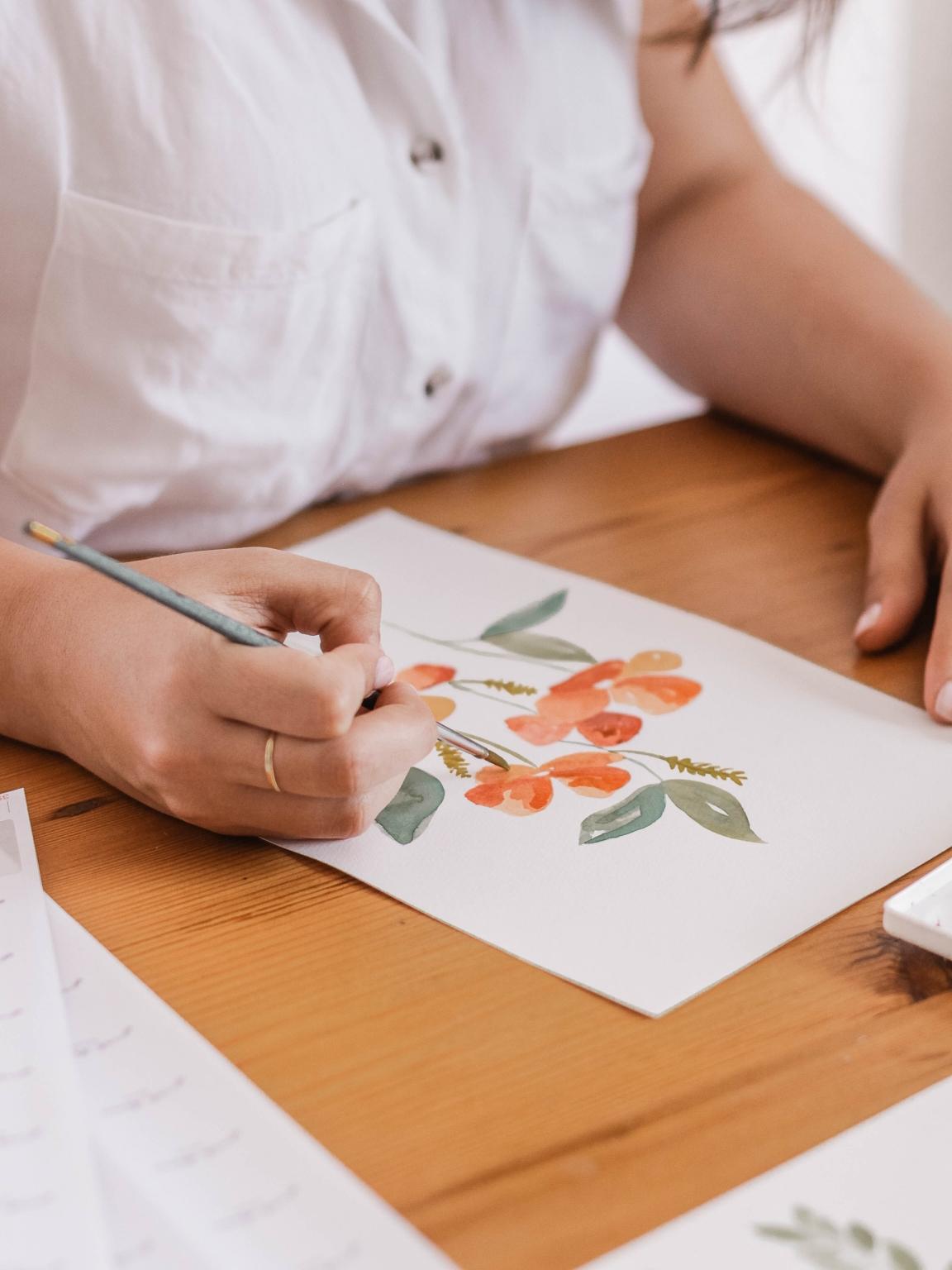 Watercolor Paint Like a Pro @ Kathryn's Studio