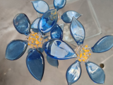 Sculptural Glass Flowers