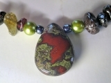 Create a One-of-a-Kind Garnet and Dragon Blood Necklace