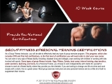 Group and Personal Fitness Certification