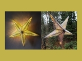Playing with Color and Light: Iridescent Stars