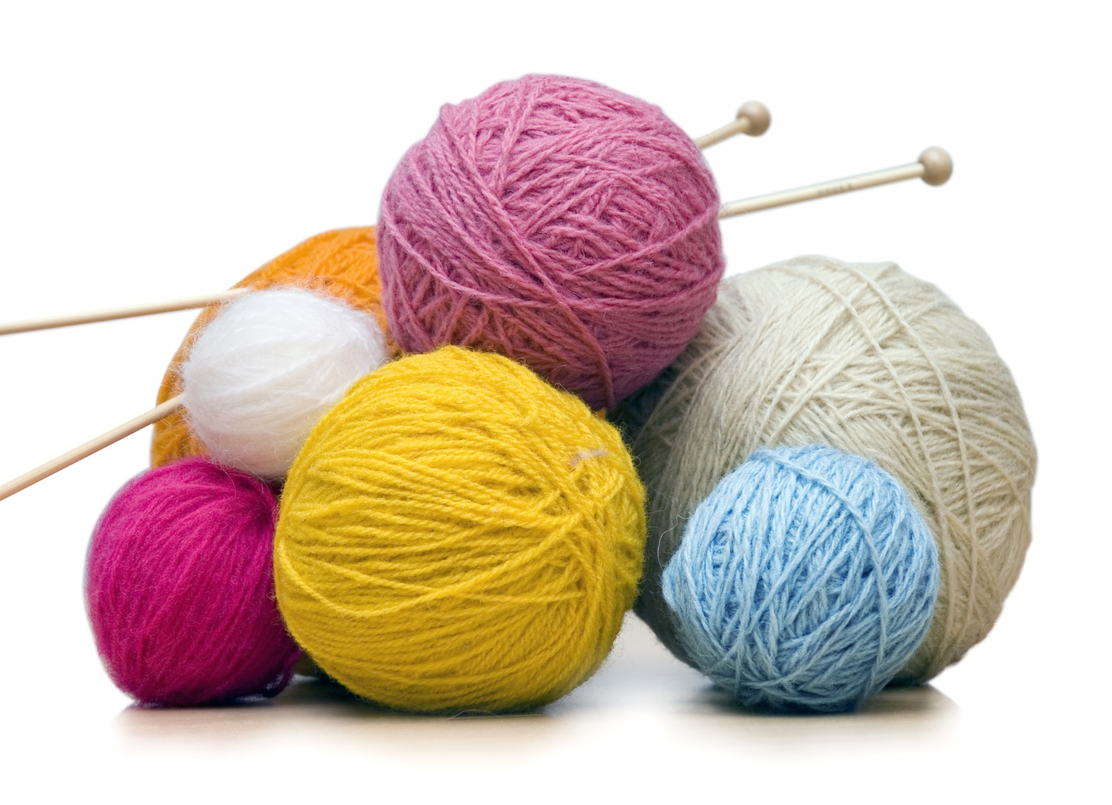 "Knitting with the ""Knotty Knitters"""