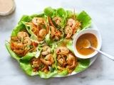 Lettuce Wraps 3 Ways - Asian - Shrimp and Vegie