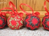 Quilted Christmas Ornament Workshop