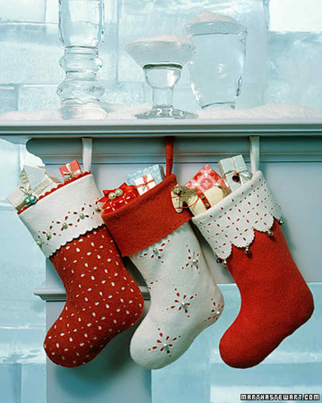 Sewing:Fabric Magic Cuff Christmas Stocking
