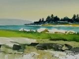 Watercolor Maine Landscapes