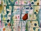 """E-05-02 Watercolor """"Spring Abstract"""""""