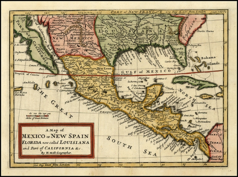 Original source: https://upload.wikimedia.org/wikipedia/commons/thumb/e/e3/A_Map_of_Mexico_or_New_Spain%2C_Florida_now_called_Louisiana_and_Part_of_California_%26c._By_H._Moll_Geographer.jpg/1280px-A_Map_of_Mexico_or_New_Spain%2C_Florida_now_called_Louisiana_and_Part_of_C