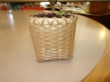 Black Ash Berry Basket