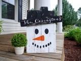 Snowman Porch Sitter Fall 2017