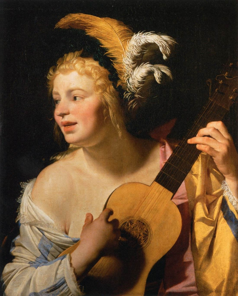 Original source: https://upload.wikimedia.org/wikipedia/commons/3/3e/Gerard_van_Honthorst_-_Woman_Playing_the_Guitar_-_WGA11669.jpg