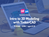 9:30AM | Intro to 3D Modeling with TinkerCAD