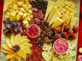 Cheese Boards for Holiday Entertaining (Christmas Themed)