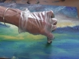Painting With Oil Sticks