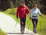 Walking with Poles for Exercise & Balance
