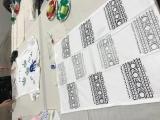Block Printing for Holidays