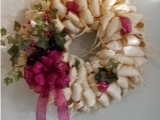 Corn Husk Wreath Messalonskee F19