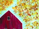 The Red Barn Paint and Mingle Fall 2018