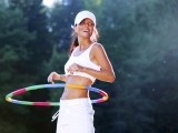 Hula Hoop Exercise and Dance-Morning Session