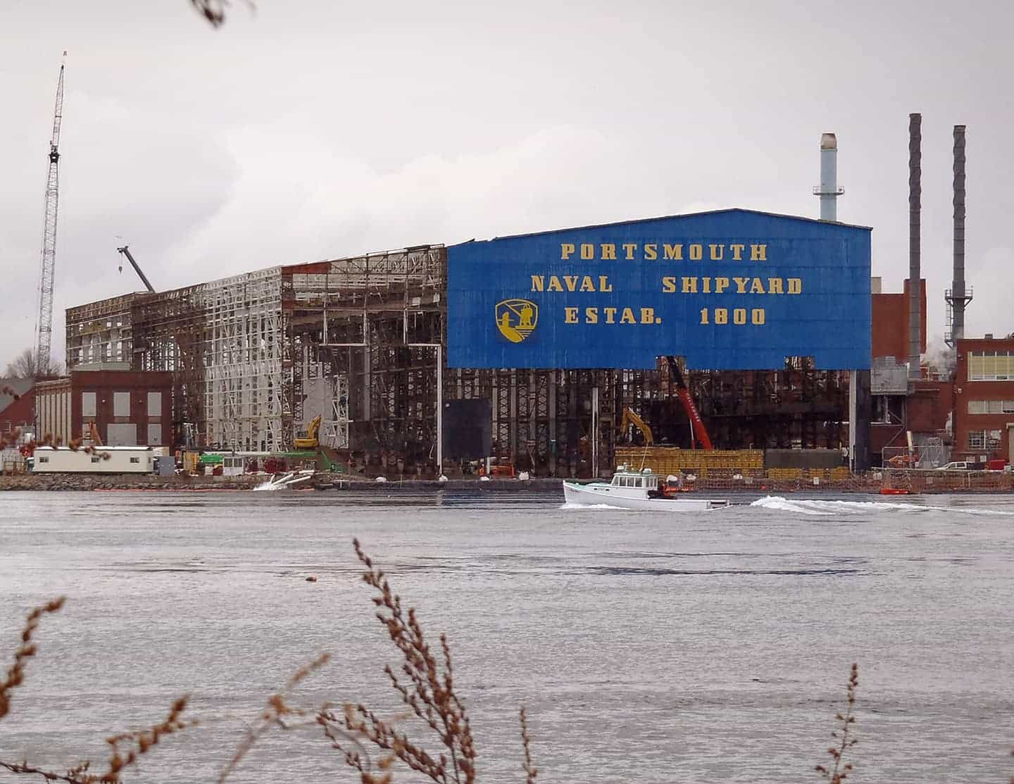Portsmouth Naval Shipyard: From Sails to Atoms