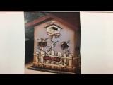 Tall Birdhouse Plaque