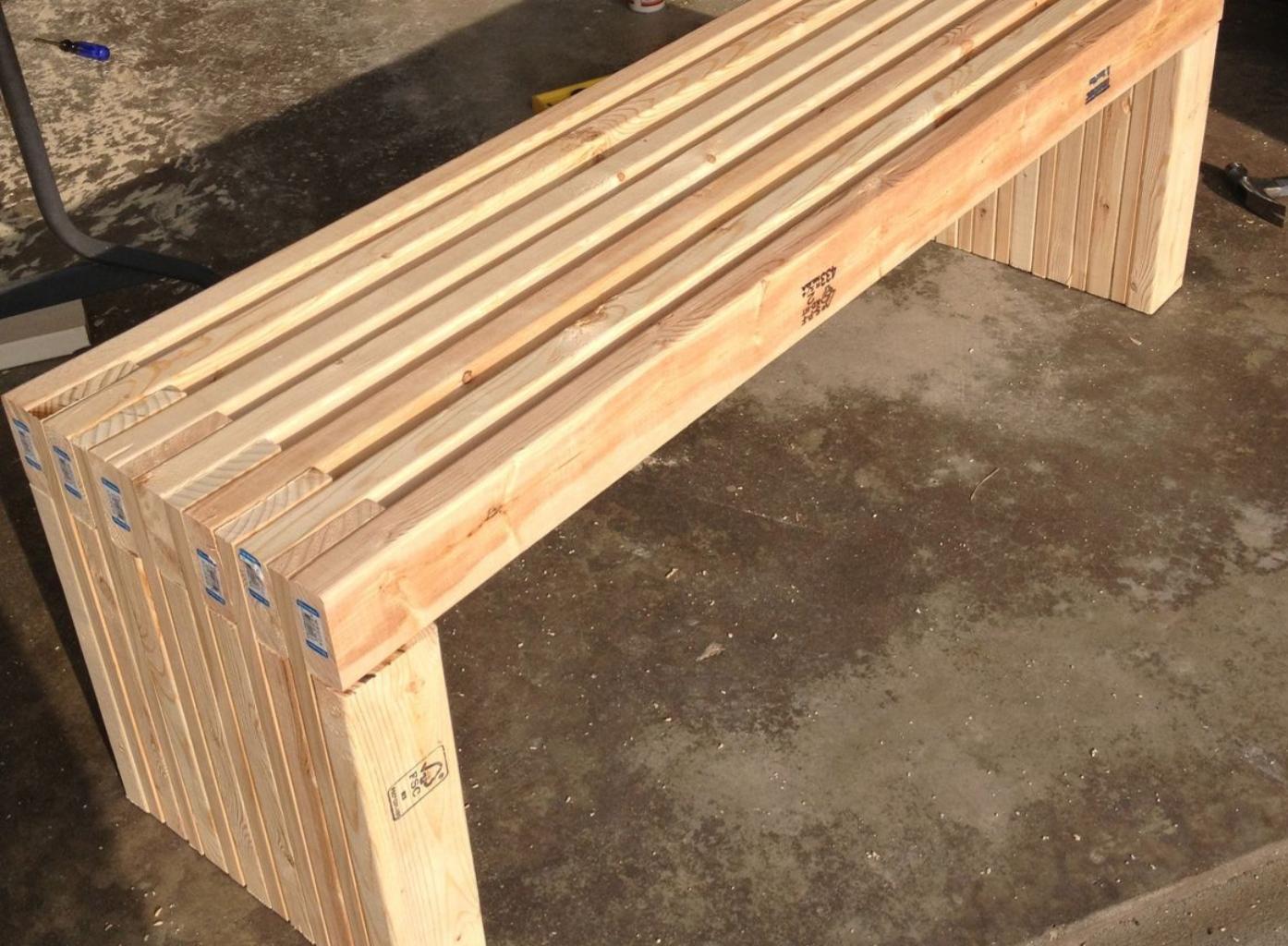 Studio Artisane: Modern Outdoor Bench