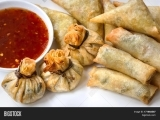 Asian Holiday Appetizers 2nd Class